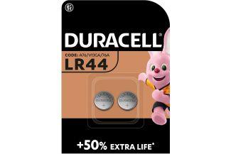 DURACELL PILA BOTON LR44 (2 UNID)