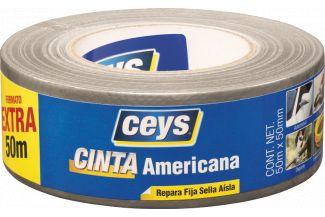CEYS TACKCEYS C.AMERICANA PLATA 50MX50MM
