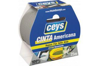 CEYS TACKCEYS C.AMERICANA PLATA 25MX50MM